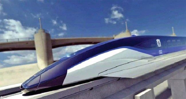 سریع ترین قطار جهان رونمایی شد (عکس)