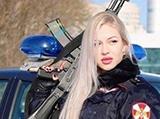 زیباترین زن پلیس روسیه کیست؟